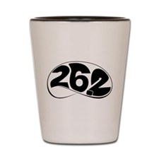 Chicago 26.2 Shot Glass