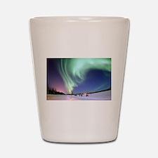 Alaska Aurora Shot Glass