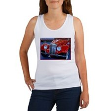 Antique M G, bright, car, Women's Tank Top