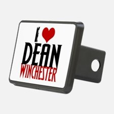 I Love Dean Winchester Hitch Cover