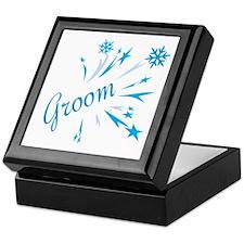 Winter Groom Keepsake Box