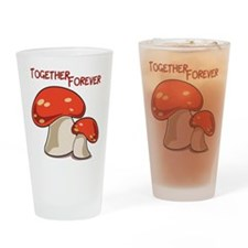 Together Forever Drinking Glass
