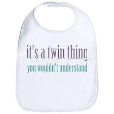 Twin Thing 2 Bib