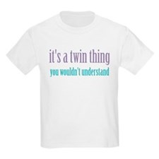Twin Thing 2 Kids T-Shirt