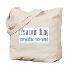 Twin Thing 2 Tote Bag