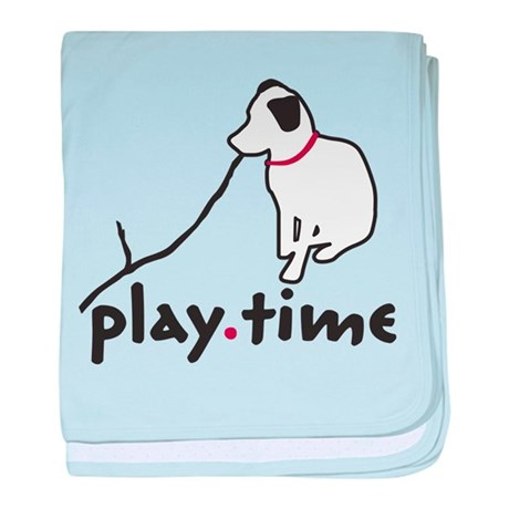 Play Time baby blanket
