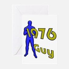 1976 Guy Sports Greeting Cards (Pk of 10)