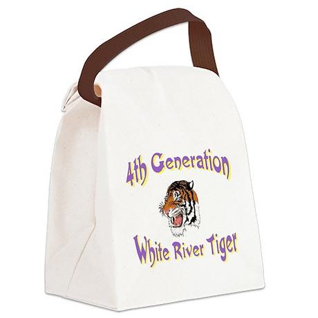 4thgentiger.jpg Canvas Lunch Bag