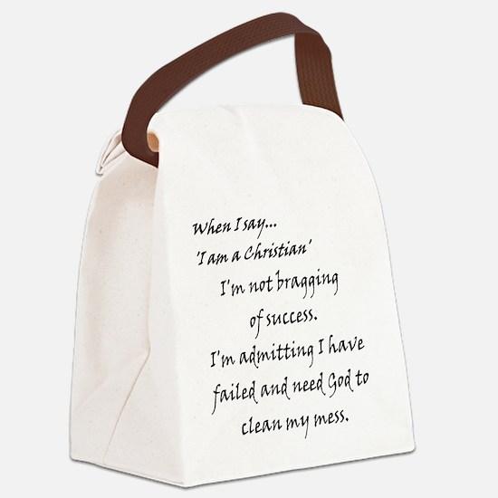 successNmess.jpg Canvas Lunch Bag