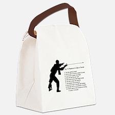 fencingdate.jpg Canvas Lunch Bag