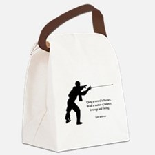 fencingsex.jpg Canvas Lunch Bag