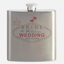 Vegas Bride Flask