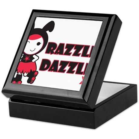 Roller Derby - Razzle Dazzle Keepsake Box