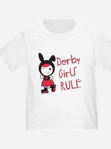 Roller Derby - Derby Girls Rule T