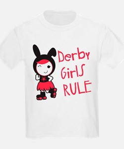 Roller Derby - Derby Girls Rule T-Shirt