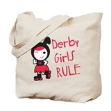 Roller derby Canvas Totes