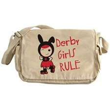Roller Derby - Derby Girls Rule Messenger Bag
