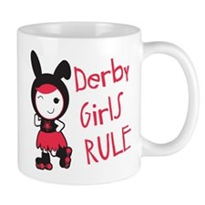 Roller Derby - Derby Girls Rule Mug