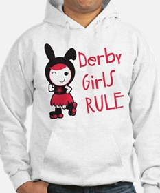Roller Derby - Derby Girls Rule Hoodie