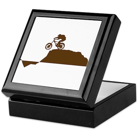 Mountain Bike Keepsake Box