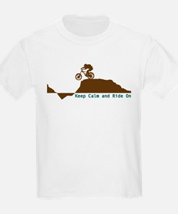 Mountain Bike - Keep Calm T-Shirt