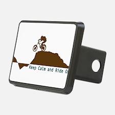 Mountain Bike - Keep Calm Hitch Cover