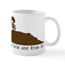 Mountain Bike - Keep Calm Mug