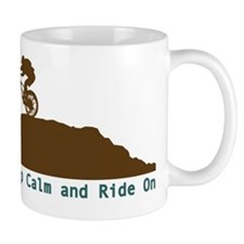 Mountain Bike - Keep Calm Mug