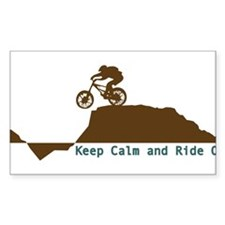 Mountain Bike - Keep Calm Decal