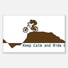 Mountain Bike - Keep Calm Decal