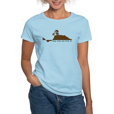 Mountain Bike - Keep Calm Women's Light T-Shirt
