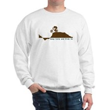 Mountain Bike - Keep Calm Sweatshirt