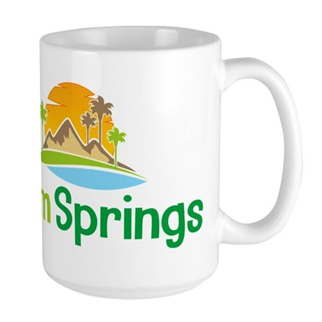 Palm Springs Large Mug
