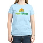 Palm Springs Women's Pink T-Shirt
