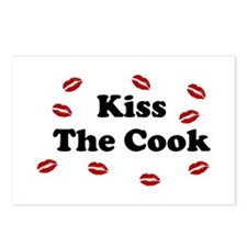 kiss The cook Postcards (Package of 8)