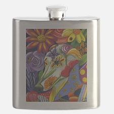 Flora Pastel Flask