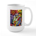 Flora Pastel Large Mug