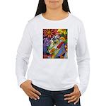 Flora Pastel Women's Long Sleeve T-Shirt