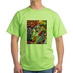 Flora Pastel Green T-Shirt