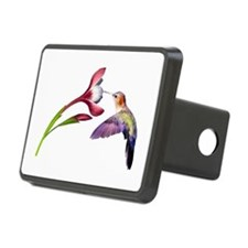 Hummingbird in flight Hitch Cover