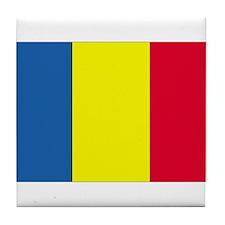 Romania Tile Coaster