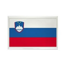 Slovenia Rectangle Magnet