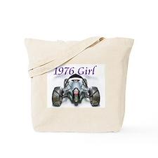 1976 Cars Girls Tote Bag