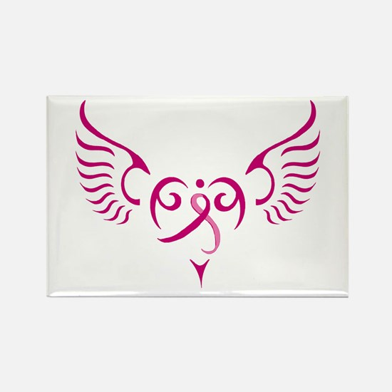 Style Me Pink Rectangle Magnet