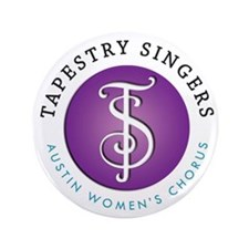 """Tapestry Singers 3.5"""" Button"""