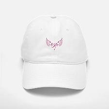 Breast Cancer Awareness Angel Heart Baseball Baseball Cap