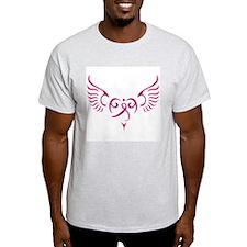 Breast Cancer Awareness Angel Heart T-Shirt