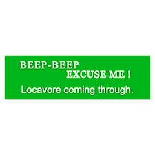Locavore Bumper Bumper Sticker