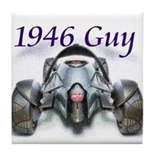1946 Cars Tile Coaster