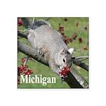 Squirrel Square Sticker 3